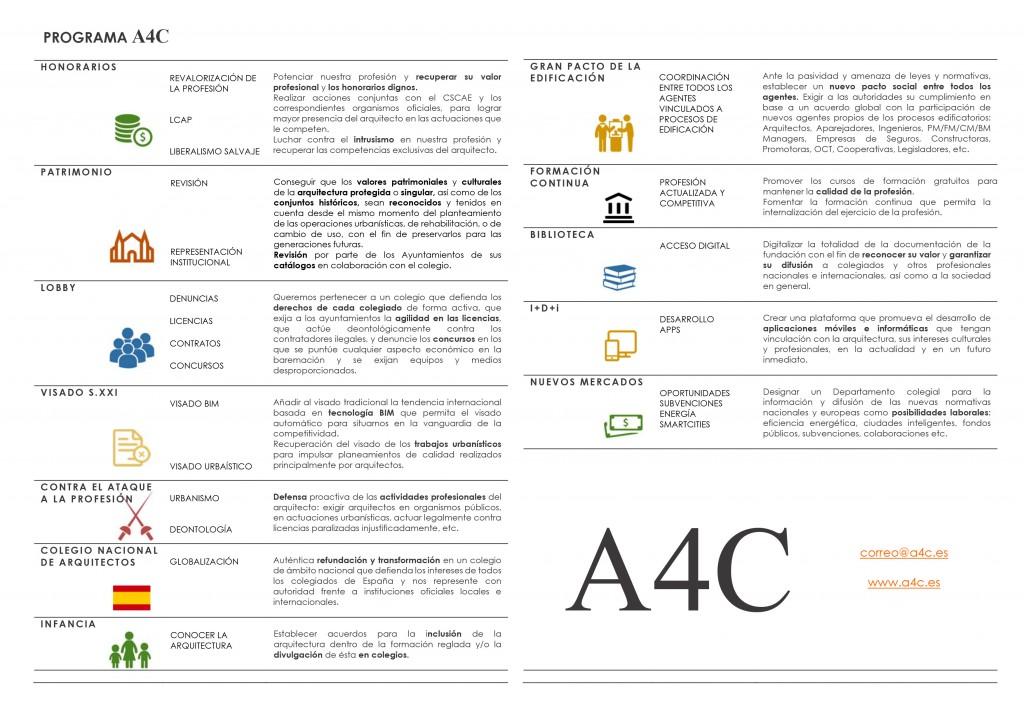 Programa A4C